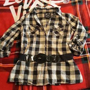 Cato checkered shirt